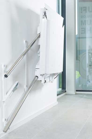 Ανελκυστήρας σκάλας με πλατφόρμα Delta Lehner