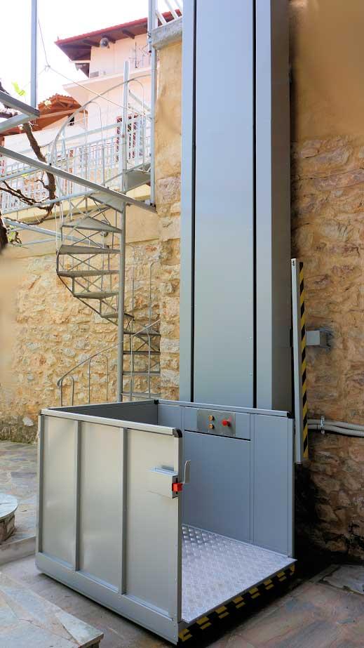 Κατακόρυφο σύστημα ανύψωσης AMEA Vertiplat