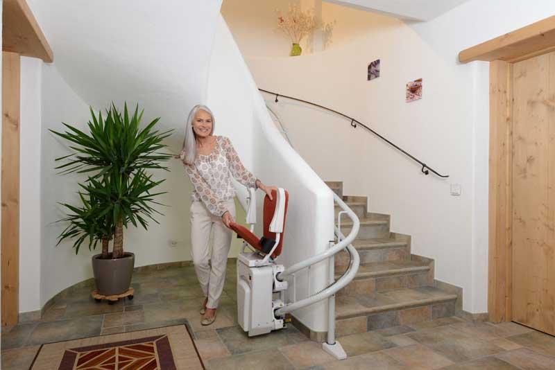 Αναβατόριο σκάλας ALPHA με κάθισμα