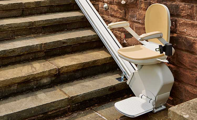 Ανυψωτικό κάθισμα ΑΜΕΑ για σκάλες σε ευθεία Acorn