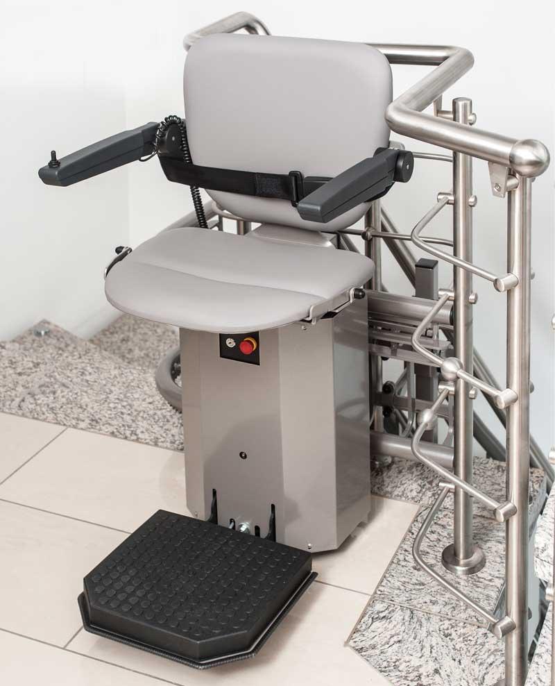 Ανυψωτικό σκάλας freeSTAIR με κάθισμα