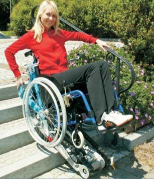 Αναρριχητής σκάλας χωρίς συνοδό STAIRMAX